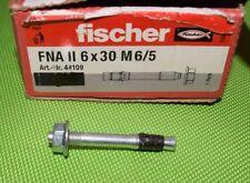 22 Stück Fischer Nagelanker FNA II 6 x 30 M6/5 50 mm 6 mm 44109  (536)
