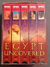 Egypt Uncovered (VHS, 1998, 5-tape Box Set) Narrated by Philip Madoc