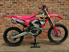 Honda crf 250r 2019 7 hours Geico edition motocross bike + spares