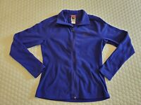 PRE OWNED Womens The North Face Fleece Indigo Zip Up Jacket Size S