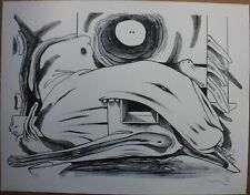 Lithographie de Jacques CHEMAY signée épreuve d'artiste Belgique **
