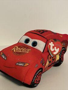 "Ty Beanie Disney/Pixar Cars 3 Hero Lightning McQueen 7"" Plush NWT"