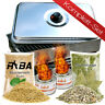 RYBA Tisch Räucherofen Tischräucherofen + Brennpaste, Räuchermehl, Räucherlauge