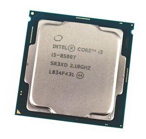 Intel Core i5-8500T (8th Gen)  2.10-3.50GHz 6-Core LGA 1151 9MB Cache 8GT/s