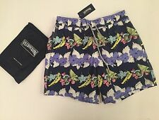 New w Tags & Bag Authentic Vilebrequin Moorea Navy Blue Swim Trunks - Men L