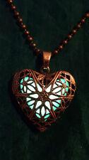Bigiotteria cuore in bronzo
