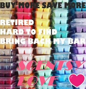 SCENTSY Wax Bars SCENTS L-Z Retired BBMB HTF Up to 15% Off FREE SHIPPING