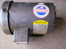Baldor M2550 1 1/2 HP Motor Three Phase RPM 3450