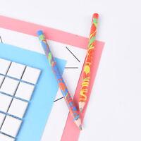 2pcs Regenbogen Farbe Bleistift Aquarell Zeichnung Malerei Bleistifte Pen dd
