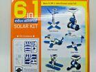 NEW 2 STEM 6 in 1 DIY Car Boat Fan Plane Educational Solar Powered Robot Kit US