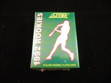 1992 Score Rookies Factory Sealed Set