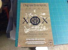 Rare! Original Dream Theater Promo Poster 17x11 music album .Cd lp vintage