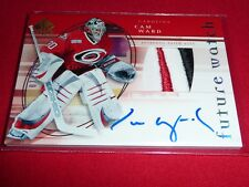 05-06 SP Authentic Cam Ward RC Auto Future Watch Patch 77/100 3CLR