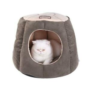 AeroMark C30HML-MH Armarkat Cat Bed Laurel Green and Beige C30HML-MH