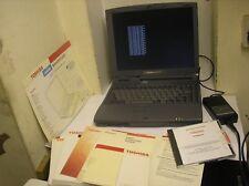Toshiba Satellite 4030CDT retro vintage laptop