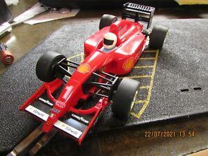 SCALEXTRIC / HORNBY CAR FERRARI F1 #1 ASPREY / PIONEER FORMULA 1 C643 1/32 SCAE