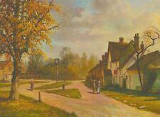 Joseph Henry Lynch - Mitte Öl 20. Jahrhunderts, Gloucestershire Dorf