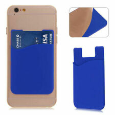 Silicone Mobile Phone Credit Card Pocket For Samsung Galaxy Chat