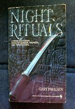 Book: Night Rituals: Gary Paulsen: horror paperback
