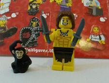 LEGO® 8831 Minifiguren Serie 7 Nr. 10 Steinzeitjunge Jungle Boy Unbespielt