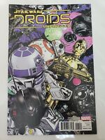 STAR WARS DROIDS UNPLUGGED #1 (2017) MARVEL COMICS VARIANT EDITION COVER ART NM