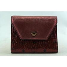 Portafogli e borsellini da donna Trifold rosso