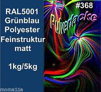 capa del Polvo Polvo Para Recubrimiento Pintura en polvo ral5001 Azul