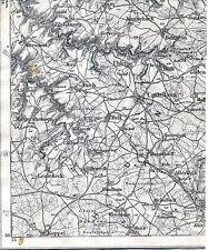 Kastellaun Bell Kappel Zilshausen 1909 Teilkarte/Ln Alterkülz Beltheim Korweiler