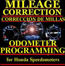 Honda Motorcycle Speedometer Instrument Gauge Cluster Mileage Odometer PROGRAM