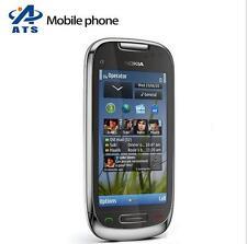 Original Nokia C7 C7-00 WIFI GPS 8MP 3G GSM smartphone 8GB internal storage