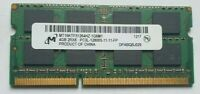MiCRON 4GB 1x 4gb RAM MEMORY DDR3-PC3L-12800S-11-11-FP  MT16KTF51264HZ  2Rx8