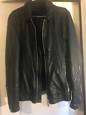 All Saints Leather Jacket SZ S