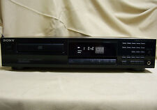 Sony CDP-261 CD Player Single Compact Disc CD-R Custom Edit Fxn Hi Density Nice