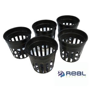 Small Plant Pots for Aquarium Plants 5cm (Set of 5) Plastic Potting Pot Aquatic