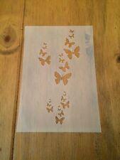 FARFALLE in MYLAR riutilizzabile Stencil Aerografo Pittura Arte Craft fai da te Home Decor