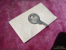 Vintage Gibson Excelsior Case Key and Envelope BURST CASE CANDY 1959 1958 1957