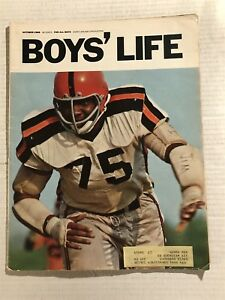 1968 Boys Life VIRGINIA STATE Coll Jim MITCHELL The MAN WHO HATES QUARTERBACKS
