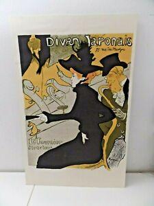 Marvelous Divan japonais Henri de Toulouse-Lautrec