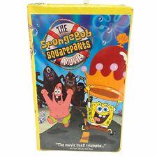 SEALED!! The Spongebob Squarepants Movie (VHS, 2005, Clamshell Case) Nickelodeon