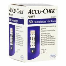 Accu Chek Aviva Blood Glucose Test Strips (50 Tests)