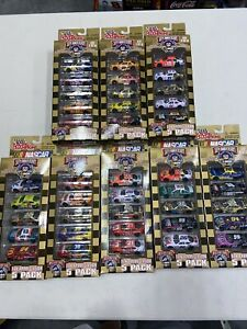 Lot Of 8 Racing Champions 1/64 NASCAR 1998 Fan Appreciation 5 Packs 40 Cars NIP!