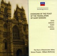 Preston/Choir of Westminster Abbey - Evensong for the Feast of St. Edward [CD]