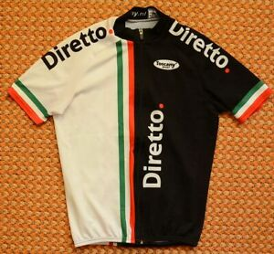 Diretto, Cycling Shirt by Toscany, Size Small, Colnago, full zipper