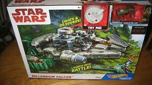 Star Wars Hot Wheels Millennium Falcon Playset