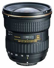 Tokina AT-X PRO 12-28 F/4.0 DX Lens for Canon DSLR Camera