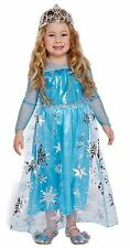 ELSA PRINCESS TODDLER GIRLS ICE FAIRY TALE FANCY DRESS PARTY COSTUME 2-4 YRS