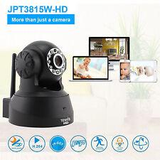 HD 720p WIRELESS WIFI TENVIS IP Camera rete domestica di sicurezza CCTV VISIONE NOTTURNA
