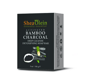 ACTIVATED BAMBOO CHARCOAL DEEP CLEANSE DETOXIFYING SOAP