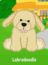 Webkinz Labradoodle Dog ( unused code only ) !Credible Proven Seller!