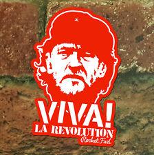 Jeremy Corbyn vinyl stickers. Set of 10. Viva La Revolution. Labour Party.